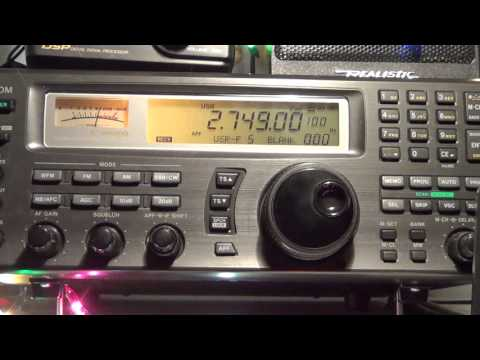 VCS Halifax Coast Guard radio 2749 Khz Shortwave