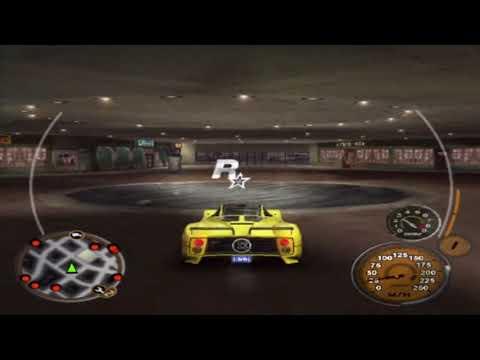 Midnight Club 3: DUB Edition Remix Gameplay Walkthrough - San Diego Rockstar Logo Location 1 of 12