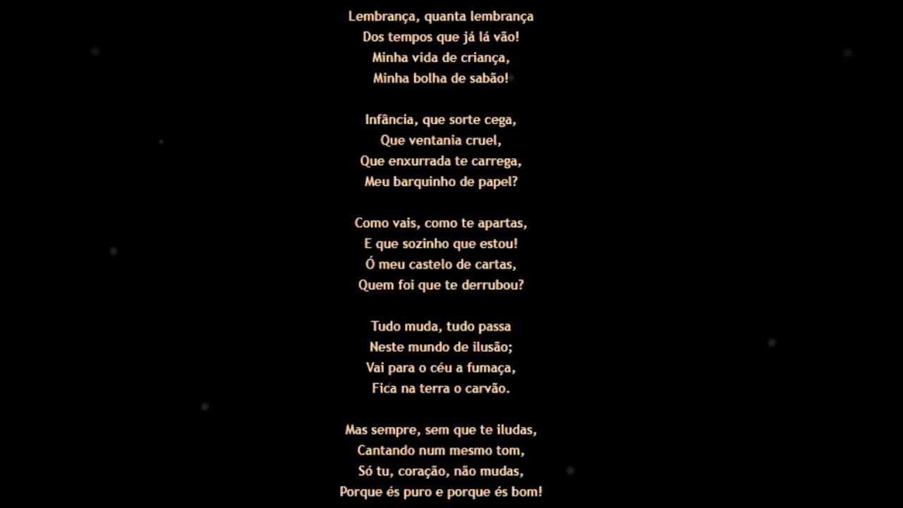 Coração Poema De Guilherme De Almeida Coisas Que O Tempo Levou 08072017