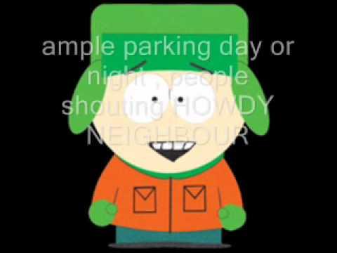 South Park Theme Song + on screen lyrics