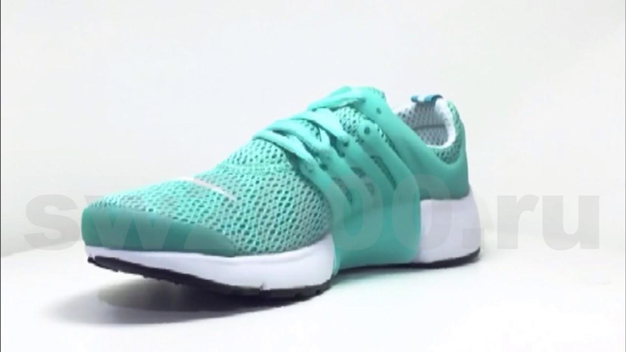 Nike Air Presto Turquoise White Woman - YouTube e8262172c