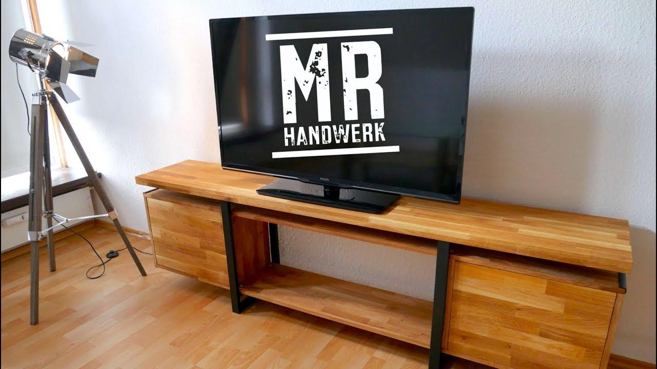 TV BOARD Im Industrial Style Selber Bauen