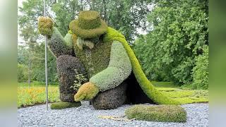 Топиар – скульптуры из кустарников и деревьев