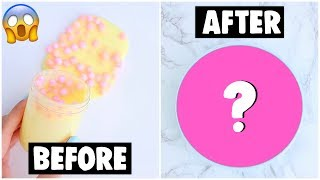 EXTREME INSTAGRAM SLIME MAKEOVERS *my followers fix my old slimes*