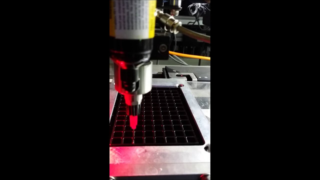 Youtube Automated Cms By Teedeskdev: SWISSCI: Automated Gluing Of Glass Bottom Plates