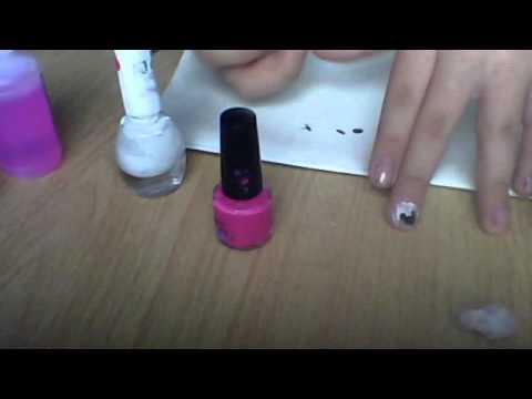 Tutorial como pintarse las u as de minnie mouse youtube - Como pintarse las unas ...
