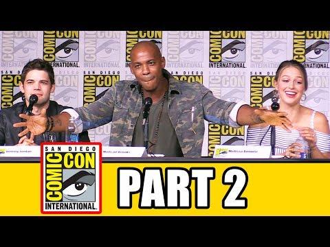 SUPERGIRL Comic Con 2016 Panel Part 2  Melissa Benoist, Tyler Hoechlin, Mehcad Brooks