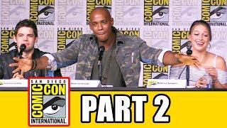 supergirl comic con 2016 panel part 2 melissa benoist tyler hoechlin mehcad brooks