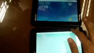 Reflective image display problem on Ubislate 7+ Android 2.2 tablet