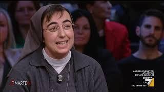 Massimo Giannini all'economista Suor Alessandra Smerilli: l'unico leader della sinistra oggi è ...