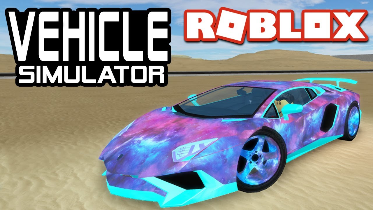 My Lamborghini Aventador In Vehicle Simulator Roblox Youtube - roblox vehicle simulator paint jobs