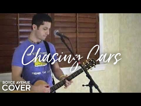 Snow Patrol  Chasing Cars Boyce Avenue acoustic  on  & Apple