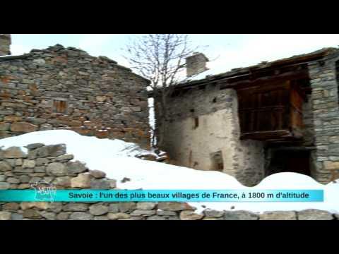 Savoie : l'un des plus beaux villages de France, à 1800 m d'altitude