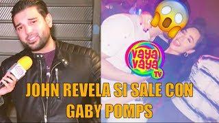 Vaya Vaya 🤔:John Guts responde si anda con Gaby de Enamorándonos (Tenemos las pruebas)