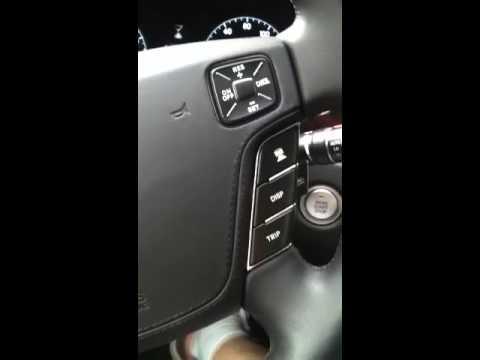 Hyundai equus trunk issue