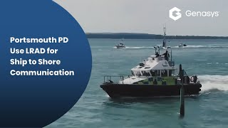 Portsmouth PD Use LRAD for Ship to Shore Communications