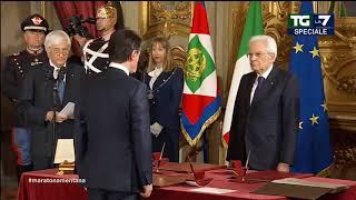 Il giuramento del Premier Giuseppe Conte