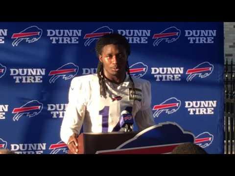 Buffalo Bills training camp Sammy Watkins (7/27/17)
