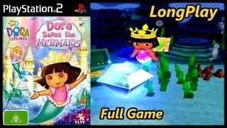 Dora The Explorer: Dora Saves The Mermaids - Longplay  Ps2  Full Game Walkthrough  No Commentary