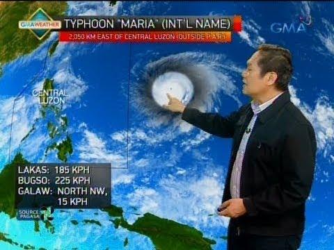 Bagyong papasok sa PAR sa Lunes, itinuturing nang Super Typhoon ng JTWC