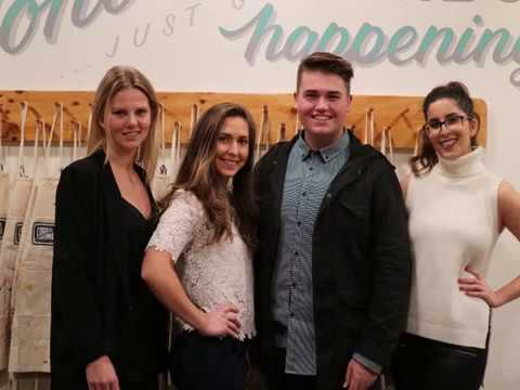 Paint and Sip: Martin events students show their skills at Sydney charity event