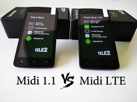 Tele2 MidiLTE Vs Tele2 Midi - Сравнение и тест скорости интернет.
