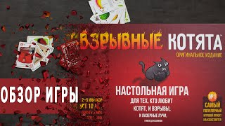 Взрывные Котята Настольная игра Обзор