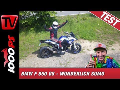 850 ccm SuMo Testfahrt - Wunderlich baut Supermoto Conceptbike auf BMW F 850 GS Basis