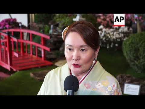 Japan's Princess Mako visits Sao Paulo as she continues tour of Brazil