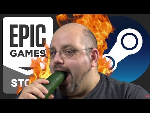 The Epic Games Store vs Steam | A Terrible Take From ReviewTechUSA
