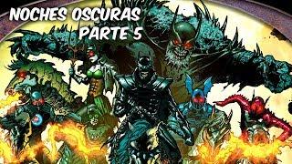 BATMAN METAL: LOS BATMAN'S OSCUROS Vs LA LIGA DE LA JUSTICIA
