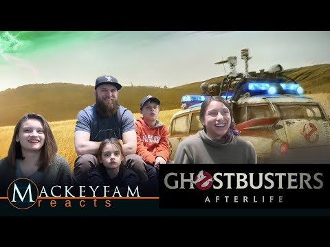 GHOSTBUSTERS: AFTERLIFE - Official Trailer- REACTION and REVIEW!!!