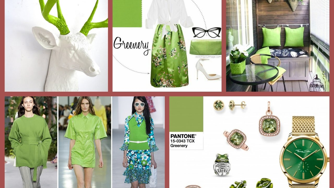 815d4e9a52d Greenery is the Pantone Color of the Year 2017 - Color Trends 2017 - Greenery  Pantone Ideas - YouTube