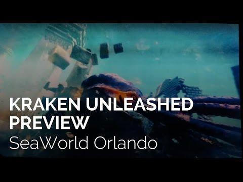 Kraken Unleashed Preview at SeaWorld Orlando