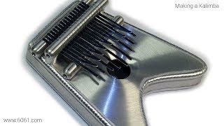 TIG Welding Aluminum Fabrication - Making a Kalimba - 6061.com