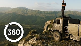 Zip Down Armenia's Longest Zipline | Yerevan, Armenia 360 VR Video | Discovery TRVLR thumbnail