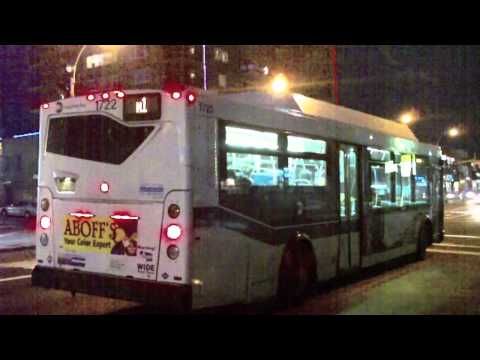 MTA Long lsland Bus: Orion VII NG CNG 1722 N1 Bus@Merrick Boulevard/Hillside Avenue