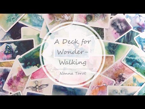開箱  奇妙行旅卡 • A Deck for Wonder-Walking// Nanna Tarot