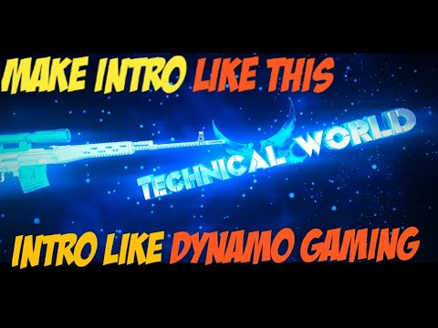 How to make intro like DYNAMO GAMING using panzoid