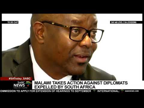 Malawi government taking action against diplomats who were r