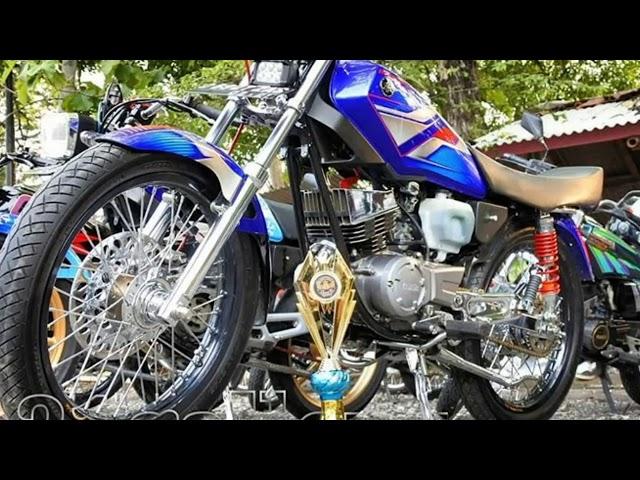 Rx king modifikasi Bandung,manis minimalis
