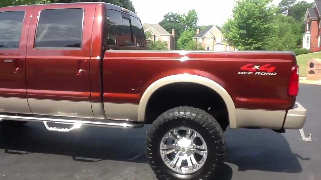 2008 f250 king ranch lifted [ 1280 x 720 Pixel ]