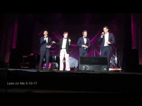 The Tenors W Chris Duffley Lean On Me 5-10-17