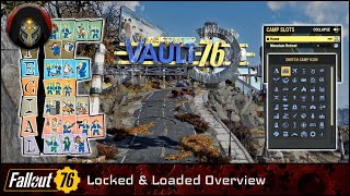 FALLOUT 76   Locked & Loaded - Pre-Launch Feature Overview (Plus Some Things I Missed).