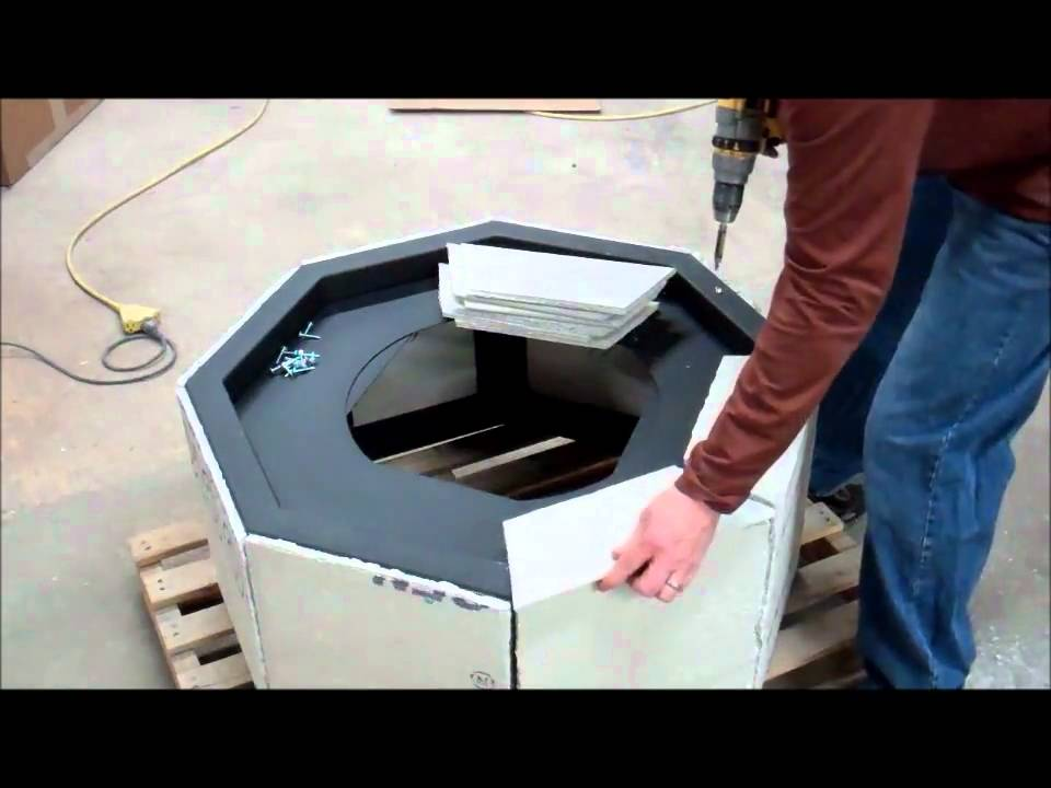 - DIY Instructions How To Build A Gas Fire Pit - YouTube