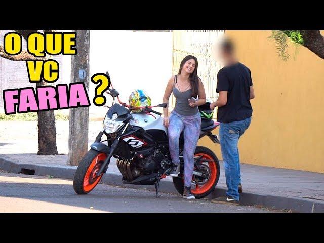 TROLANDO HOMENS COM A GOSTOSA DA XJ6 😅
