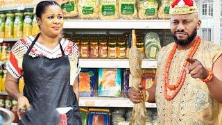 How The Poor Beautiful Sales Girl Become The Prince Wife - Yul Edochie/Uju Okoli 2021 Movie