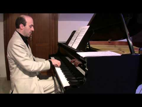 Brahms - Wiegenlied, Guten Abend, Gute Nacht (Cradle song -  Lullaby, Ninna nanna, piano solo)