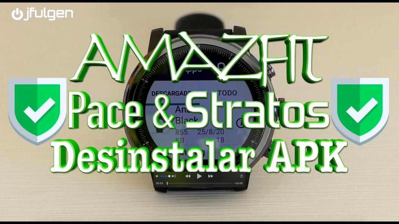 AmazFit Pace & Stratos - Uninstall APK