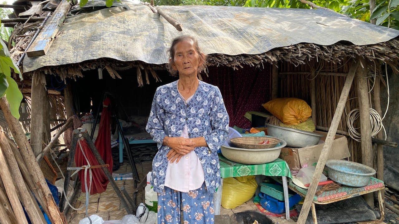 Hiện thực giấc mơ về căn chòi kiên cố của bà cụ 80 tuổi giữa đồng